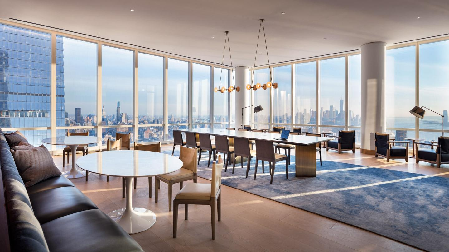 15 Hudson Yards built in New York City and designed by Rockwell Group