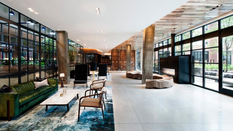 Attractive With Interior Design By Rockwell Group, The Fisher Brothersu0027 11 Story,  LEED Certified Building Is Full Of Contemporary Amenities, Mirroring The  Lively ...