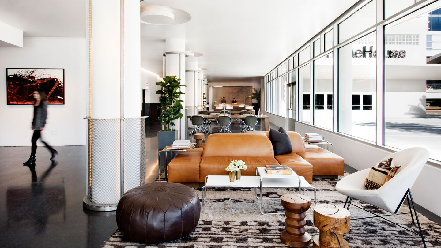 Rockwell White Granite : Neuehouse hollywood rockwell group