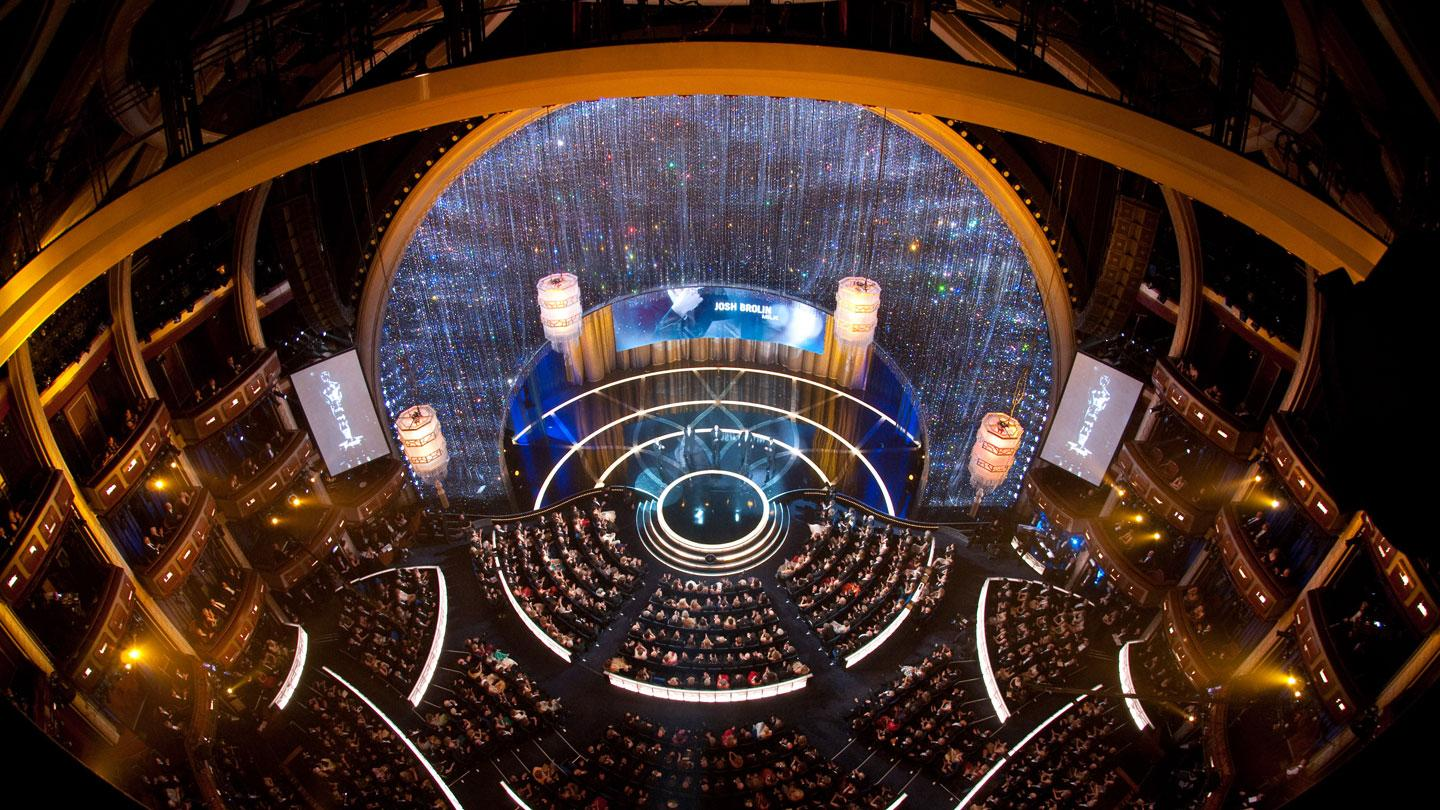 Academy Awards set design by David Rockwell