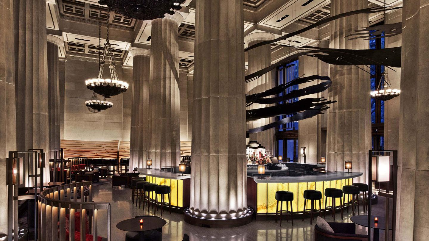 Nobu Downtown designed by Rockwell Group in New York City