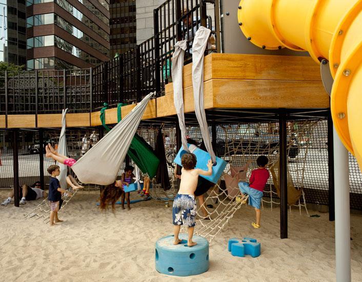Imagination Playground At Burling Slip Rockwell Group